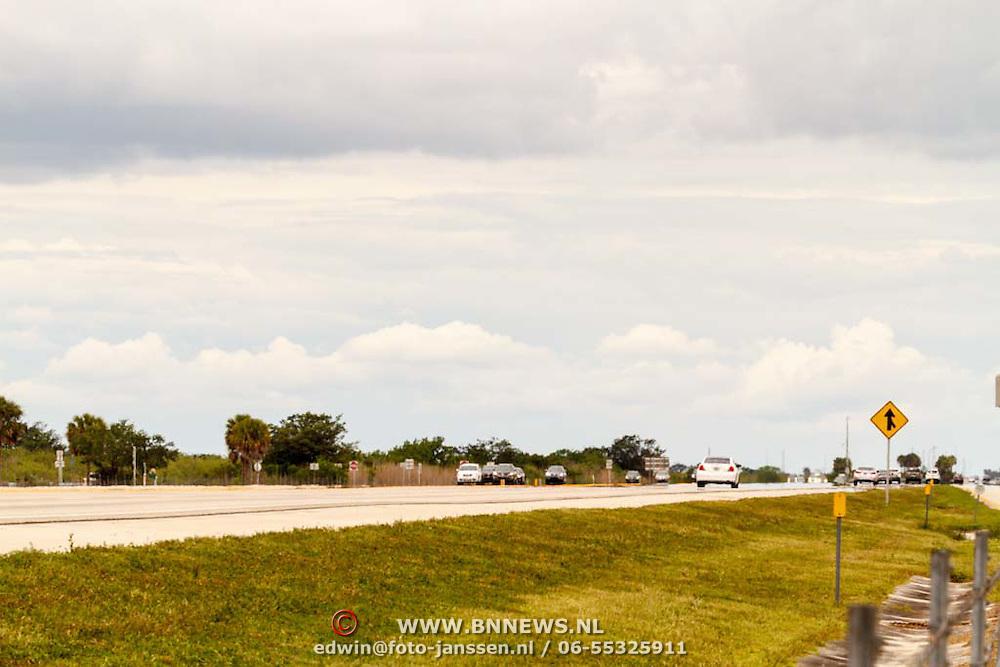 Vakantie 2015, Miami, snelweg in Amerika