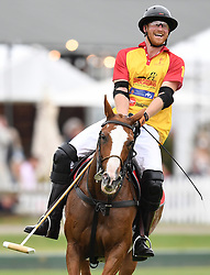 The Duke of Cambridge and Prince Harry take part in the Jerudong Trophy at Cirencester Park Polo Club, Gloucestershire, UK on the 15th July 2017. 15 Jul 2017 Pictured: Prince Harry. Photo credit: James Whatling / MEGA TheMegaAgency.com +1 888 505 6342