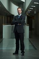 11 APR 2014, BERLIN/GERMANY:<br /> Klaus Mueller, Vorsitzender Verbraucherzentrale Bundesverband e.V., vzbv<br /> IMAGE: 20140411-01-073<br /> KEYWORDS: Klaus Müller