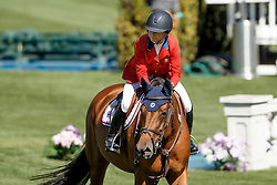 Bloomberg Georgina, (USA), Lilli<br /> Telus Cup<br /> Spruce Meadows Masters - Calgary 2015<br /> © Hippo Foto - Dirk Caremans<br /> 09/09/15