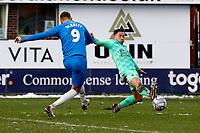 Richie Bennett. Stockport County FC 1-1 Boreham Wood FC. Vanarama National League. Edgeley Park. 23.1.21