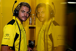 Jack Clarke (GBR) Driver and Physio of Jolyon Palmer (GBR) Renault Sport F1 Team.<br /> 08.10.2016. Formula 1 World Championship, Rd 17, Japanese Grand Prix, Suzuka, Japan, Qualifying Day.<br />  Copyright: Bearne / XPB Images / action press