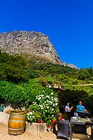 Restaurant, Haute Cabriere Vineyard Estate, Franschhoek Pass, Franschhoek, Cape Winelands, South Africa.