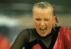 Ect Eagles Red, Norway at European Cheerleading Championship 2008, on July 5, 2008, in Arena Tivoli, Ljubljana, Slovenia. (Photo by Vid Ponikvar / Sportal Images).