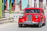 Car in Gibara, Holguin, Cuba.