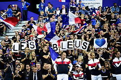 September 15, 2018 - Lille, France, France - Supporters de l equipe de France (Credit Image: © Panoramic via ZUMA Press)