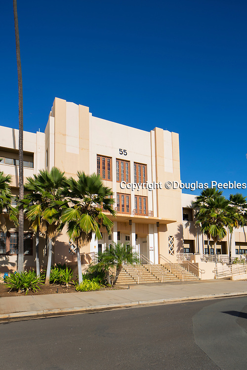 Building 51, Barracks, Ford Island, Pearl Harbor, Oahu, Hawaii