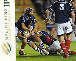- Photo mandatory by-line: Dougie Allward/JMP - Mobile: 07966 386802 - 26/09/2014 - SPORT - RUGBY - Bristol - Ashton Gate - Bristol Rugby v London Scottish - Greene King IPA Championship