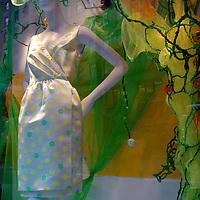 Bergdorf Goodman, spring polkadot dress