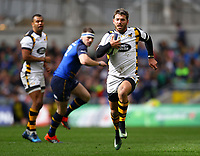 Rugby Union - 2016 / 2017 European Rugby Champions Cup - Quarter-Final: Leinster vs. Wasps<br /> <br /> Willie Le Roux of Wasps breaks through, at the Aviva Stadium, Dublin.<br /> <br /> COLORSPORT/KEN SUTTON