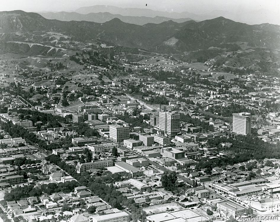 1924 Looking NW at Hollywood