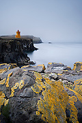 Taken in Grímsey Island which is a small island north of Iceland.