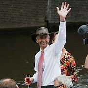 NLD/Amsterdam/20080802 - Canal Parade 2008 Amsterdam, politicus Ronald Plasterk