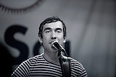 Francisco Nixon performing  at la Sala Sol, Madrid