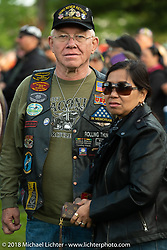 POW/MIA vigil in Meredith 's Hesky Park during Laconia Motorcycle Week. NH, USA. Thursday, June 14, 2018. Photography ©2018 Michael Lichter.