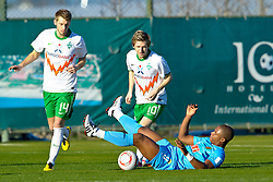 10.01.2011, IC Santai-Sportpark, Belek, TUR, SV Werder Bremen - Eskisehirspor im Bild  Aaron Hunt ( Werder #14 ) Marko Marin ( Werder #10 ) 08 Pelé   EXPA Pictures © 2011, PhotoCredit: EXPA/ nph/  Kokenge       ****** out of GER / SWE / CRO ******