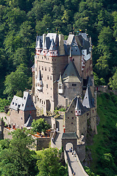 Burg Eltz castle near Mosel River valley in in Rhineland-Palatinate Germany