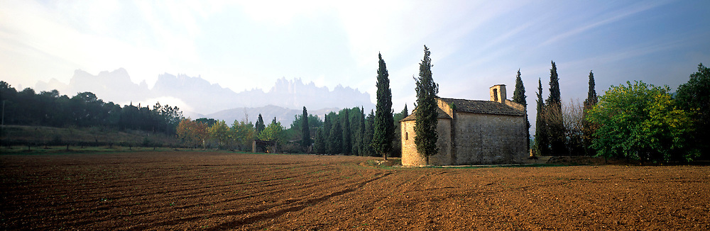 SPAIN, CATALUNYA Montserrat; Benedictine Monastery