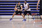 Biella, 15/12/2012<br /> Basket, All Star Game 2012<br /> Allenamento Nazionale Italiana Maschile <br /> Nella foto: valerio mazzola, david cournooh<br /> Foto Ciamillo