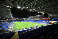 Football - 2019 / 2020 Emirates FA Cup - Fourth Round, Replay: Cardiff City vs. Reading<br /> <br /> view of the ground with empty stands & empty seats , at the Cardiff City Stadium.<br /> <br /> COLORSPORT/WINSTON BYNORTH