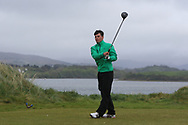 Sam Murphy (Portumna) on the 6th tee during Round 3 of the Ulster Boys Championship at Donegal Golf Club, Murvagh, Donegal, Co Donegal on Friday 26th April 2019.<br /> Picture:  Thos Caffrey / www.golffile.ie