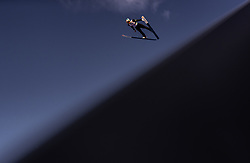 28.02.2019, Seefeld, AUT, FIS Weltmeisterschaften Ski Nordisch, Seefeld 2019, Skisprung, Herren, Qualifikation, im Bild Andreas Alamommo (FIN) // Andreas Alamommo of Finland during his Qualification Jump of men's Skijumping of FIS Nordic Ski World Championships 2019. Seefeld, Austria on 2019/02/28. EXPA Pictures © 2019, PhotoCredit: EXPA/ JFK