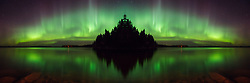 Aurora Island is a Winner in the National Association of Nature Photographers of America (NANPA) 2018 Showcase. This Aurora Borealis and its reflection is a flipped image creating a fantasy island in the north. It was taken in Saskatchewan, Canada.