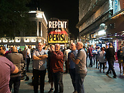 Leicester Sq. London. 25 August 2017