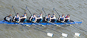 Chiswick, London, Great Britain.<br /> Headington School.Champ Girls Eight, competing in the <br /> 2016 Schools Head of the River Race, Reverse Championship Course Mortlake to Putney. River Thames.<br /> <br /> Thursday  17/03/2016<br /> <br /> [Mandatory Credit: Peter SPURRIER;Intersport images]