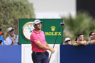 Jon Rahm (ESP) on the 10th fairway during the 3rd round of the DP World Tour Championship, Jumeirah Golf Estates, Dubai, United Arab Emirates. 17/11/2018<br /> Picture: Golffile | Fran Caffrey<br /> <br /> <br /> All photo usage must carry mandatory copyright credit (© Golffile | Fran Caffrey)