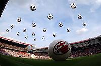 THEATRE OF DREAMS OLD TRAFFORD STADIUM<br />JUVENTUS V A/C MILAN 28/05/03 UEFA CHAMPIONS LEAGUE FINAL AT OLD TRAFFORD<br />PHOTO ROBIN PARKER FOTOSPORTS INTERNATIONAL