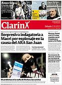 October 02, 2021 - LATIN AMERICA: Front-page: Today's Newspapers In Latin America