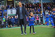 Joe Thompson during the EFL Sky Bet League 1 match between Rochdale and Coventry City at Spotland, Rochdale, England on 9 February 2019.