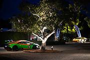 August 15, 2019:  Monterey Car Week, Lamborghini Lounge Mansion at Pebble Beach