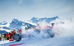 14.01.2016, Hahnenkamm, Kitzbühel, AUT, FIA, Formel 1, Projekt Spielberg Showrun, im Bild Showrun mit Max Verstappen (NED) Red Bull Racing RB7 // Max Verstappen of Netherlands on Red Bull Racing RB7 in action during the Project Spielberg Showrun at Hahnenkamm in Kitzbuehel, Austria on 2016/01/14. EXPA Pictures © 2016, PhotoCredit: EXPA/ Johann Groder
