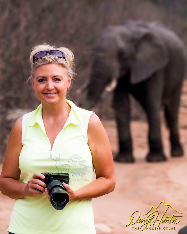 Photographer Jaki Miller on Safari in AFrica