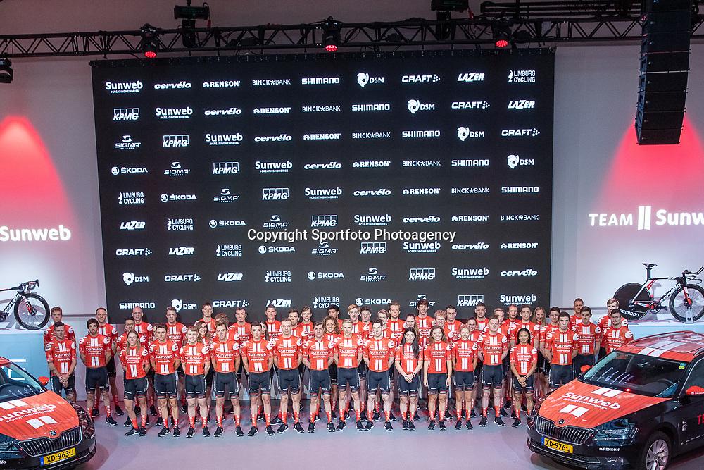 10-12-2019: Wielrennen: Teampresentatie Sunweb: Amsterdam<br />Team Sunweb Launch 2020 Worldtourteam, Womensteam and Developmenteam