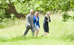 The Prince of Wales, President of The National Trust, visits Chartwell House, Kent, the former country home of Sir Winston Churchill which has undergone restoration.