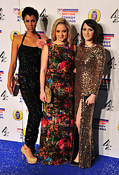 © Licensed to London News Pictures. 16/12/2011. London, England.Zawe Ashton , Kimberley Nixon a guest and Charlotte Ritchie attend the Channel 4 British Comedy Awards  in Wembley London .  Photo credit : ALAN ROXBOROUGH/LNP