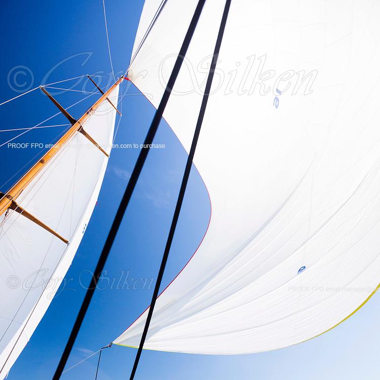 Sailing onboard Dorade.