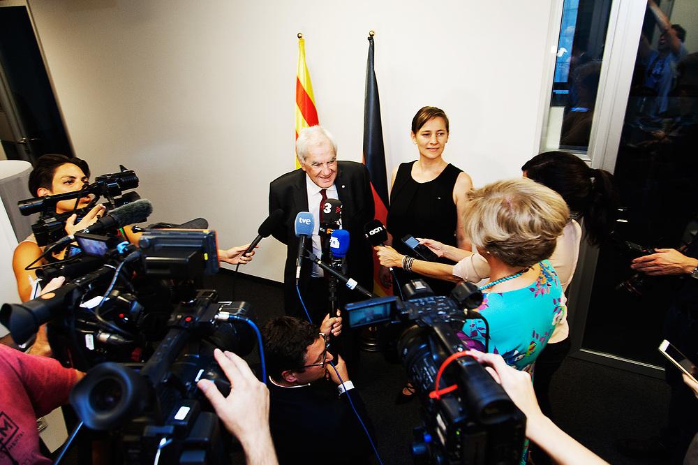 Reobertura de la Delegació de la Generalitat de Catalunya a Alemanya (19/09/2018)
