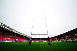 A general view of Parc y Scarlets  - Mandatory by-line: Dougie Allward/JMP - 02/11/2019 - RUGBY - Parc y Scarlets - Llanelli, Wales - Scarlets v Toyota Cheetahs - Guinness PRO14