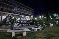 Genova, giardini pubblici. Genoa, public garden