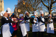 2015-02-17 MPs and media compete for Pancake Day race honours