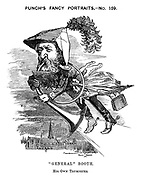 """Punch's Fancy Portraits. -No. 159. """"General"""" Booth. His Own Trumpeter"""
