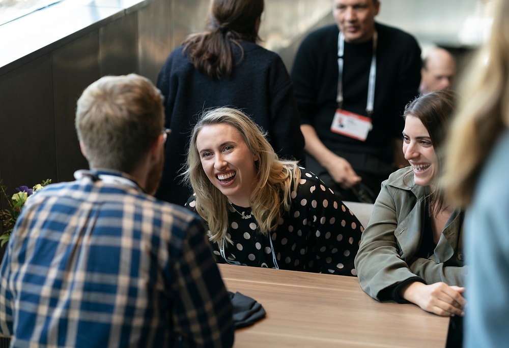 Speaker Lunch at TED2019: Bigger Than Us. April 15 - 19, 2019, Vancouver, BC, Canada. Photo: Bret Hartman / TED