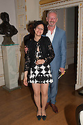 KAREN MURAT; DAVID MACH,  VIP room during the RA summer exhibition party. Royal Academy, Piccadilly. London. 5 June 2013.