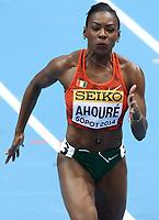 Friidrett<br /> Foto: Gepa/Digitalsport<br /> NORWAY ONLY<br /> <br /> SOPOT,POLEN,09.MAR.14 - SPORT DIVERS, LEICHTATHLETIK - IAAF Hallen Weltmeisterschaften, 60m der Damen. Bild zeigt Murielle Ahoure (CIV).