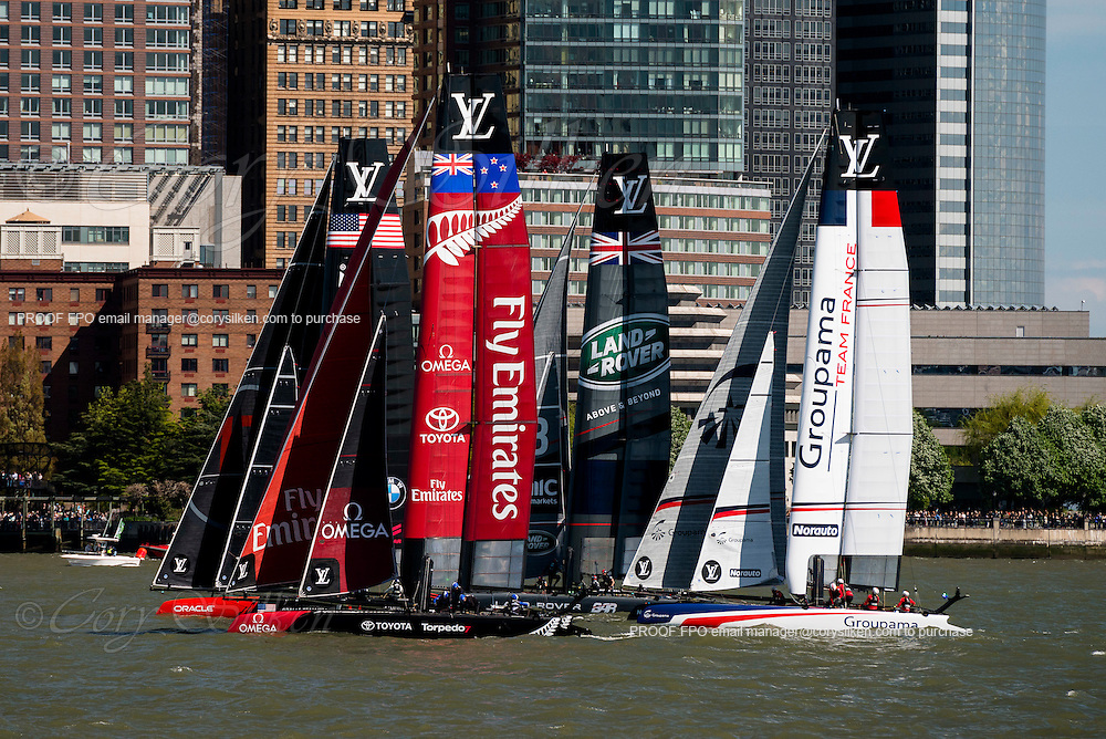 The America's Cup World Series New York.