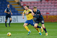 Chris Kane for St Johnstone and Coll Donaldson during the Scottish Premiership match between Ross County FC and St Johnstone FC at the Global Energy Stadium, Dingwall, Scotland on 2 January 2021